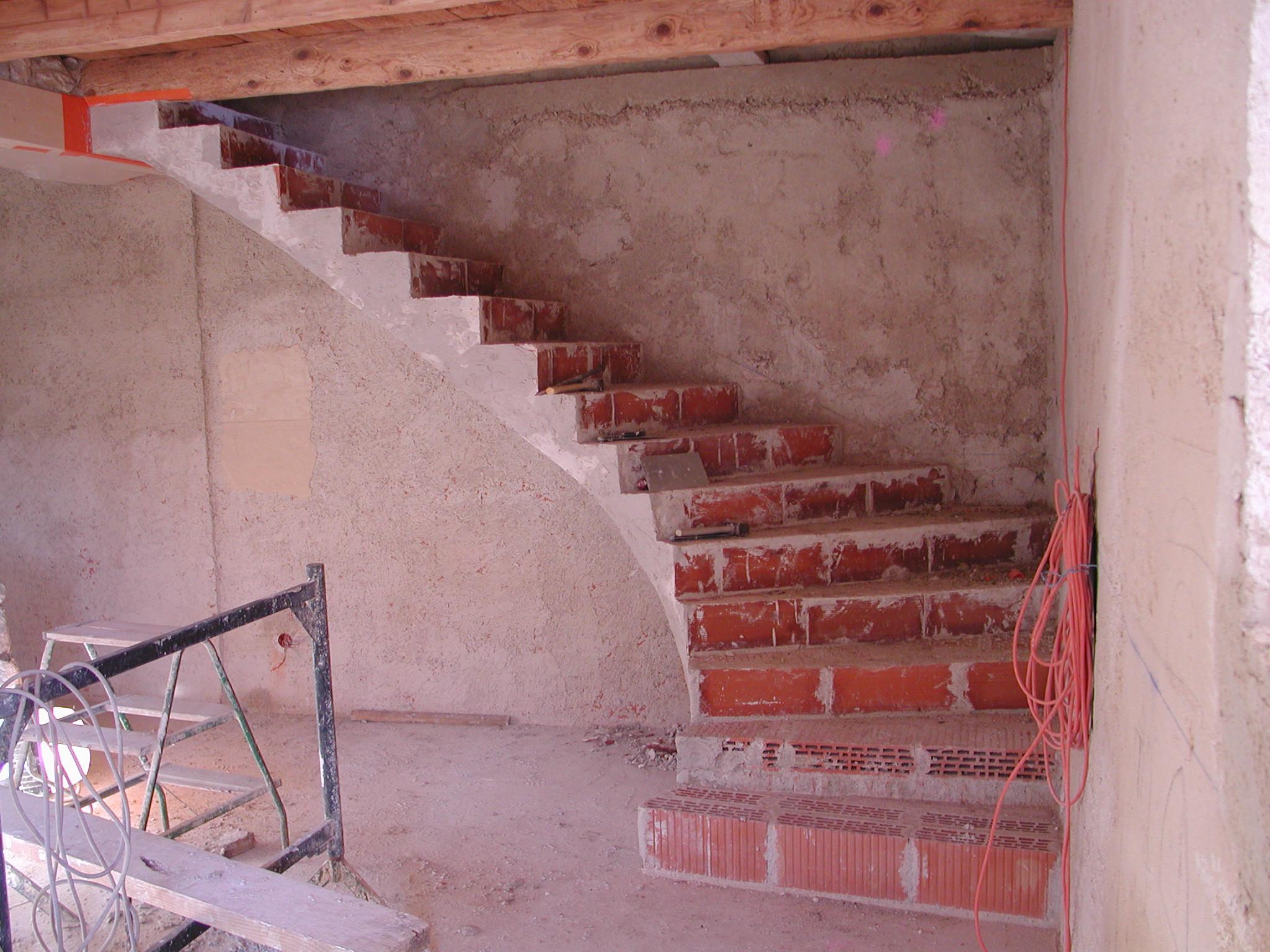 escalier en brique latest decoration escalier interieur peinture decoration escalier interieur. Black Bedroom Furniture Sets. Home Design Ideas